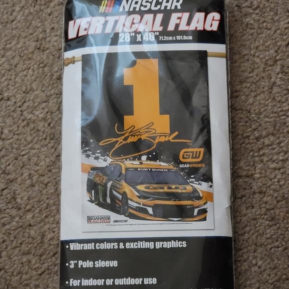 NWT Kurt Busch Nascar Gear Wrench Flag